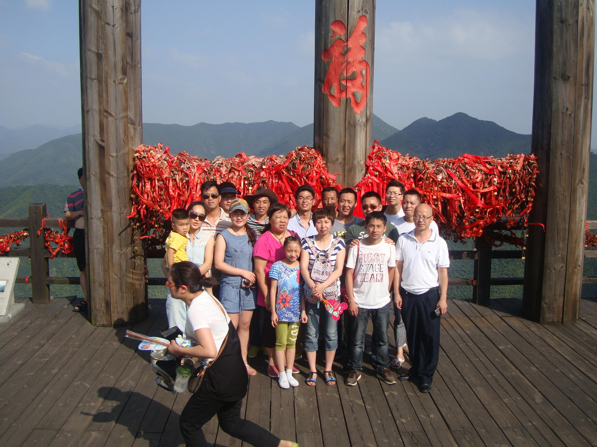 团队旅游天目湖
